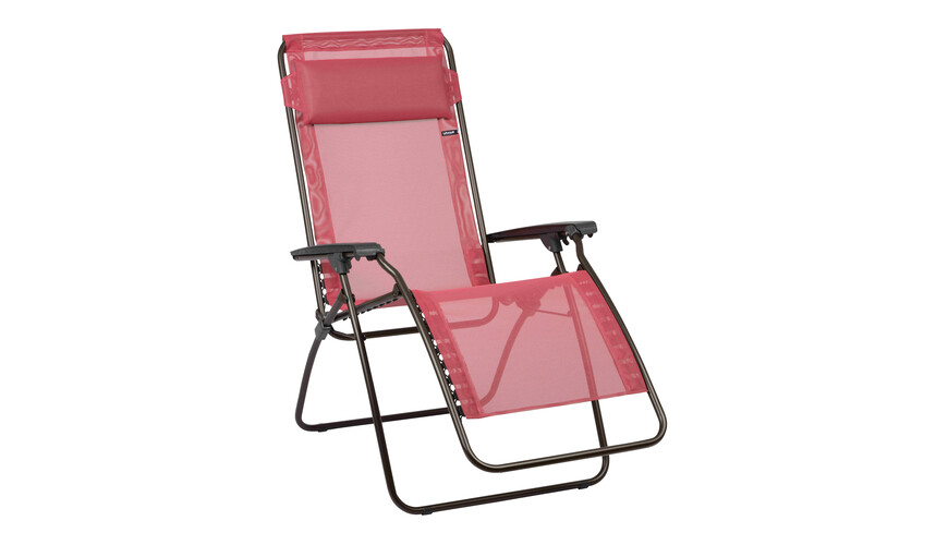Lafuma Mobilier R CLIP - Siège camping - Trendy Batyline rouge